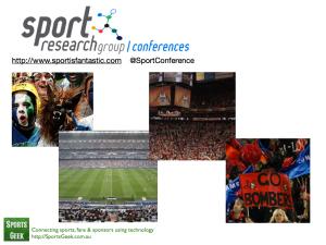 Sports Digital Marketing conferences